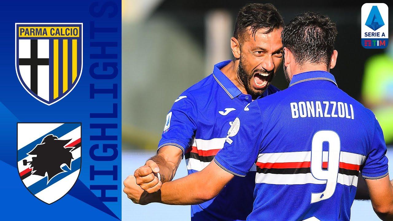 Parma 2-3 Sampdoria | Sampdoria Complete Stunning Comeback From 2-0 Down | Serie A TIM