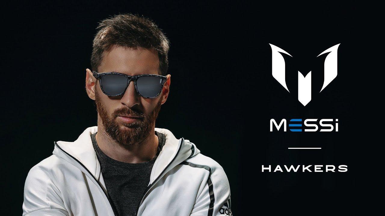Messi tendrá su propia colección de lentes de sol con Hawkers