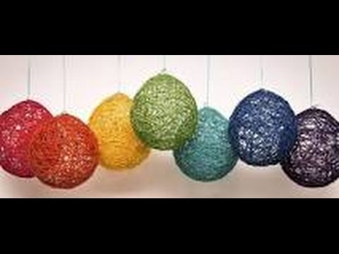 Como hacer esferas navide as manualidades emmanuel for Hacer figuras navidenas manualidades