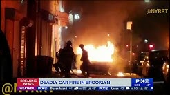 Deadly car fire in Brooklyn