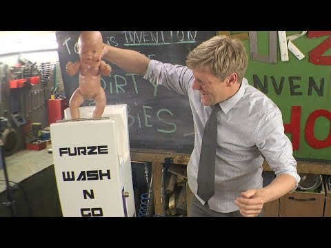 Dirty Baby Washing Machine - Furze's Invention show
