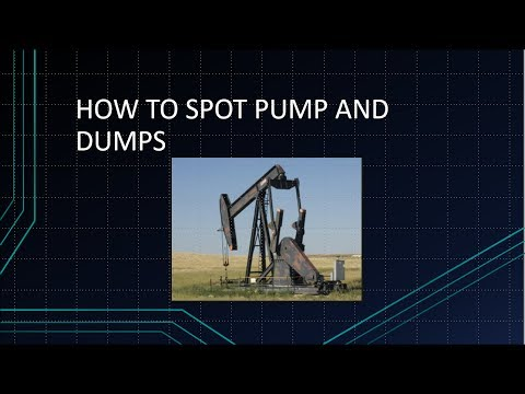 HOW TO SPOT PUMP AND DUMP CHARTS. WHAT TO LOOK FOR (2017)