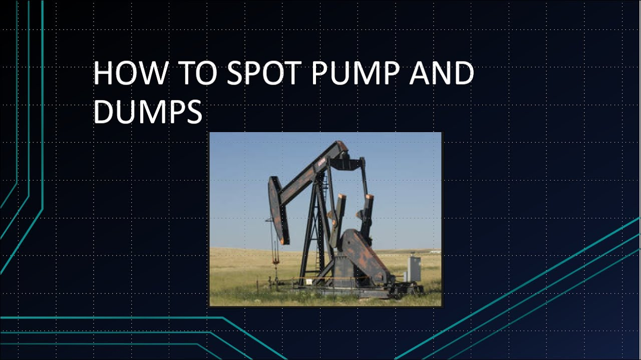 how to spot a pump and dump cryptocurrency