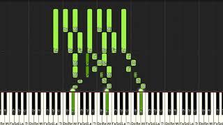 【リスト】パガニーニの主題による変奏曲集 第6番【ピアノ】