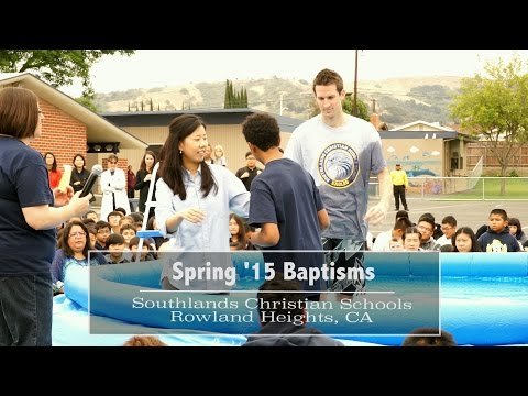 Rowland Campus Baptisms | Spring 2015