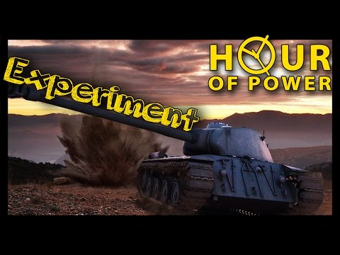 ► [World of Tanks] Power Hour Experiment | How much credits you can make in 1 hour?