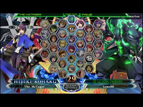 BBCF2 FIGHT NIGHT - The McTager (HB/TG) vs Fame (TE/SU) FT5