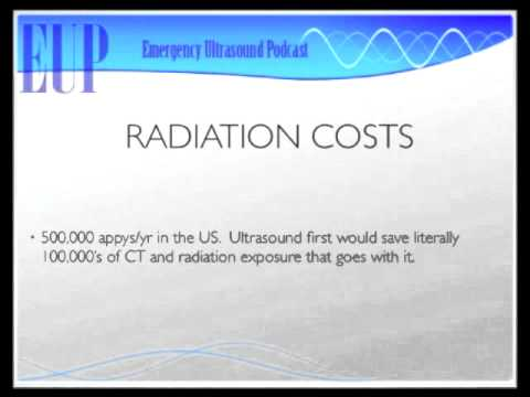 UltrasoundPodcast.com - How to Ultrasound the Appendix