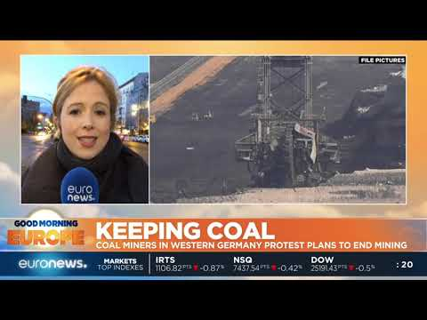 #GME | Coal Miners In Western Germany Protest Plans To End Mining