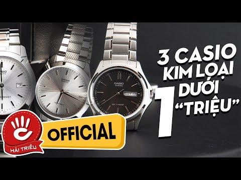 Duới 1 Triệu - 3 Chiếc Casio Kim Loại Giá Rẻ đáng Mua Nhất