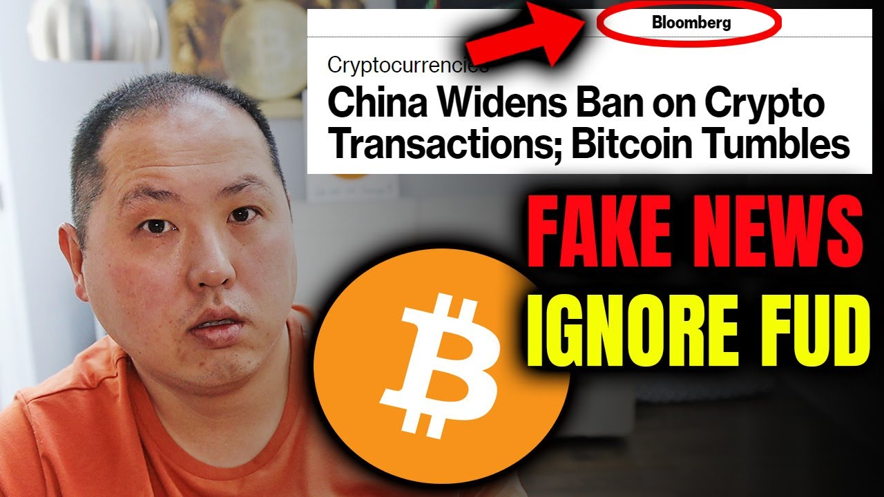 BITCOIN BAN BY CHINA IS FAKE NEWS | IGNORE THE FUD