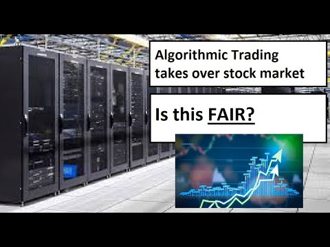 Algo Trading DOMINATES 80% of Stock Market