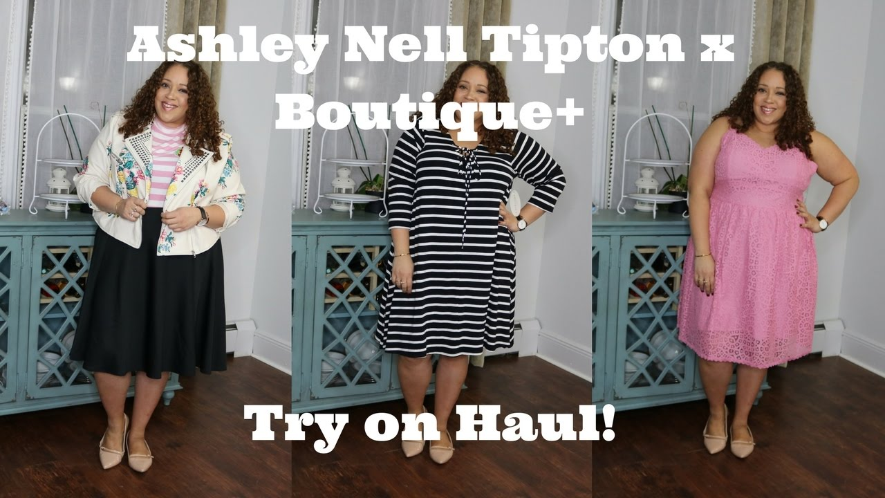 Ashley Nell Tipton X Boutique Jcpenney Plus Size Try On Haul Youtube