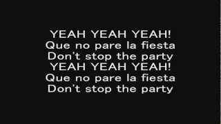 pitbull dont stop the party with lyrics