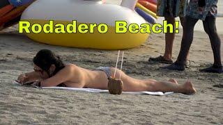 El Rodadero in Santa Marta, the most touristy beach in Colombia