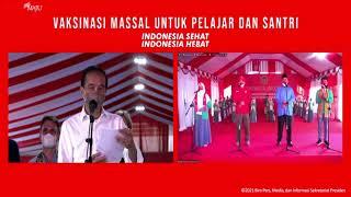 Download Dialog Presiden Jokowi saat Tinjau Vaksinasi untuk Pelajar, Tarakan, 19 Oktober 2021