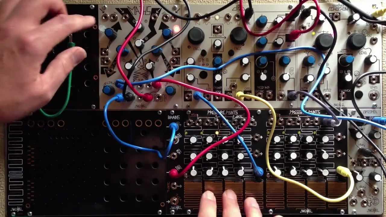 etude 7 for make noise modular synthesizer youtube. Black Bedroom Furniture Sets. Home Design Ideas