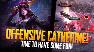 OFFENSIVE CATHERINE!! Vainglory - Breaking the Meta: Catherine Gameplay