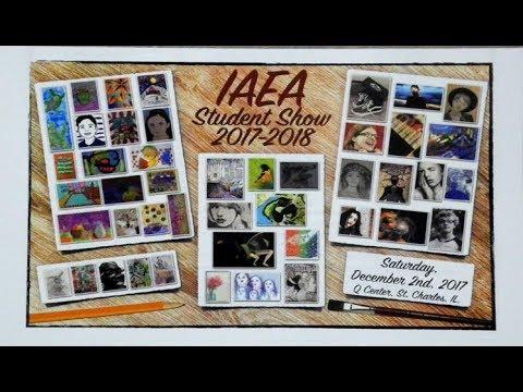 Custom water bottles Illinois Art Education Association IAEA