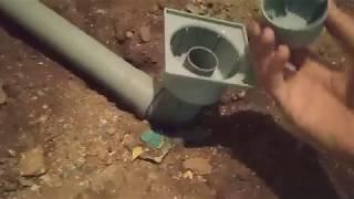 проводим канализацию и Устанавливаем трап или Как установить трап для душа в полу