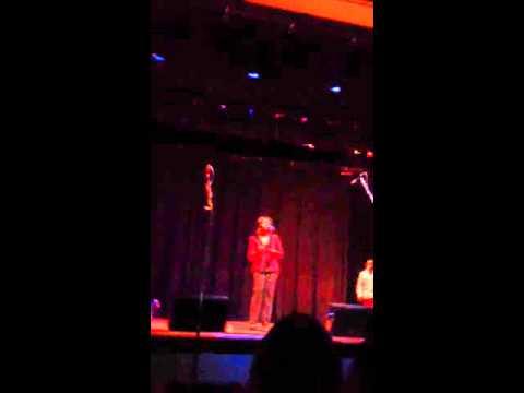 Vanessa singing at one mic Uiuc