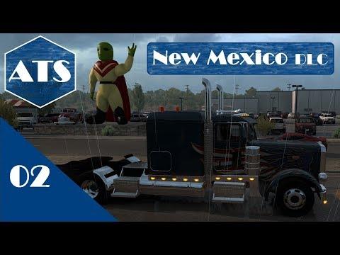 American Truck Simulator | DLC New Mexico #2 Albuquerque Bound