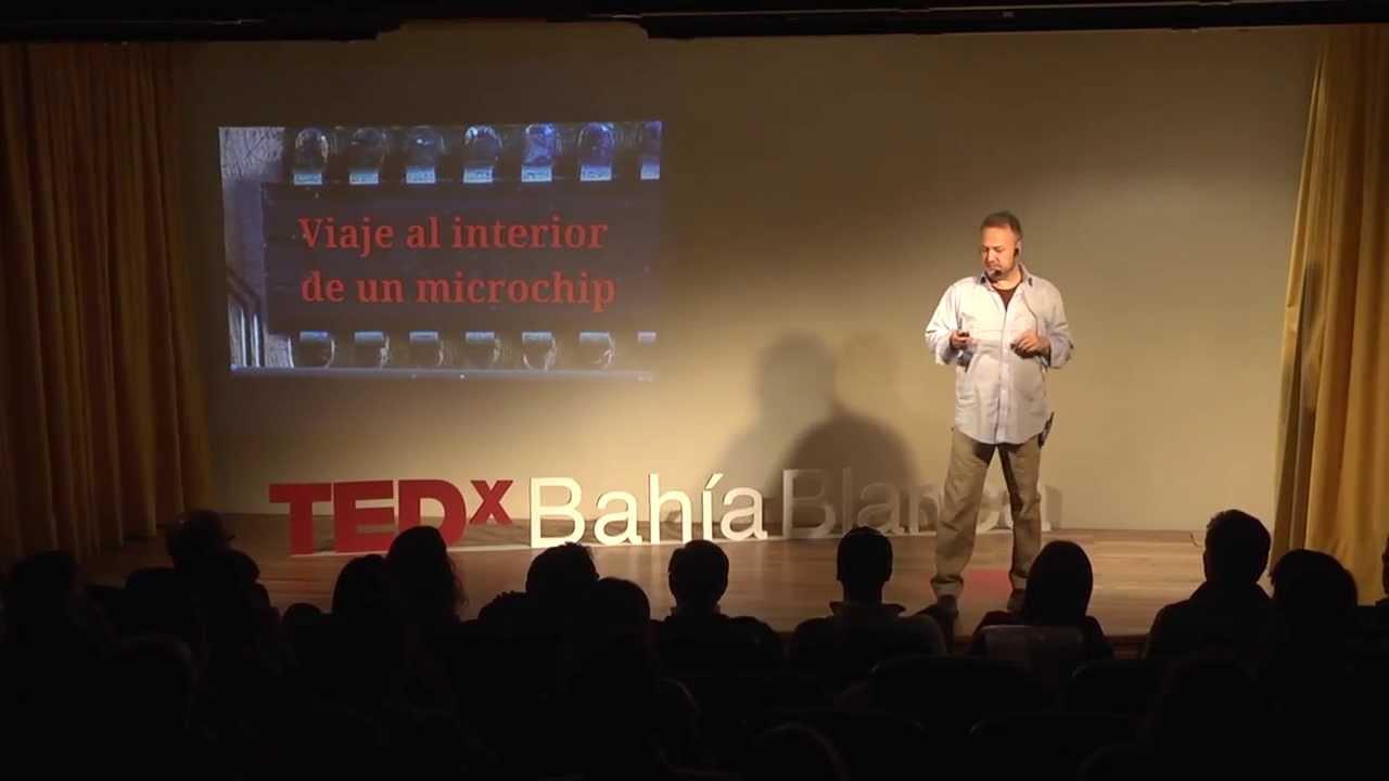 Viaje al interior de un microchip: Pedro Julián at TEDxBahiaBlanca