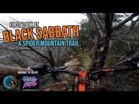 Black Sabbath Full Run - Race Down Spider Mountain Preview - mountain biking in Burnet TX