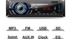 Unpack και τοποθέτηση. Δουλεύει??? Car Radio Audio Player Bluetooth MP3/USB/SD/AUX-IN/FM