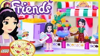 LEGO Friends Heartlake Pizzeria Build Review Silly Play - Kids Toys