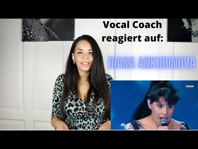 "Gesangslehrerin reagiert auf Diana Ankudinova ""Can't help falling in love"" (Elvis)"