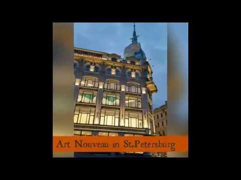Art Nouveau Architecture in St. Petersburg