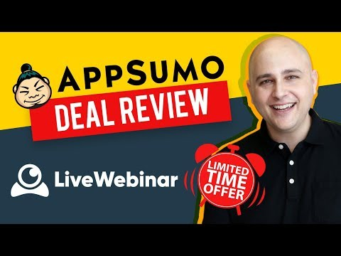 LiveWebinar Review - Professional Yet Affordable Webinar & Live Meeting Tool