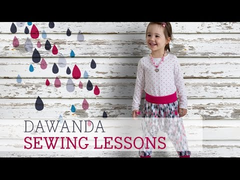 DaWanda Sewing Lessons: Harempants For Kids With Pattydoo