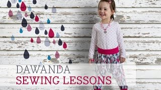 DaWanda Sewing Lessons: Harempants for Kids with pattydoo