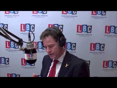Clegg Left Stunned After Farage Backed Putin In LBC Debate