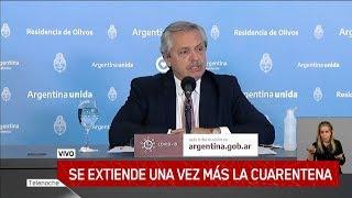 Alberto Fernández Anunció La Extensión De La Cuarentena