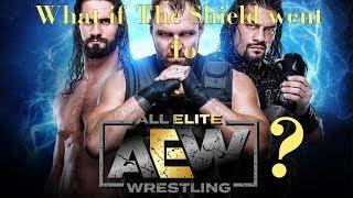 #TheShield: What if They Went To #AEW? (Custom Titantron & Theme) #allelitewrestling