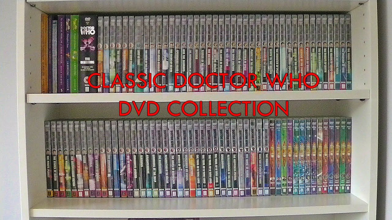 Classic Doctor Who Dvd Collection 2015