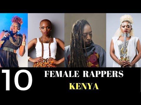 The Kenyan Sauce  Top 10 FEMALE RAPPERS KENYA 2018