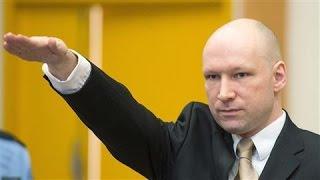 Norwegian Mass Killer Gives Nazi Salute in Court