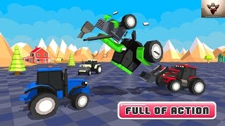 Toy Tractor Battle Final Wars - Android Gameplay Full HD (By Sablo Games)