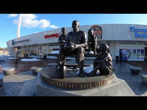 Naismith Memorial Basketball Hall Of Fame Springfield Massachusetts