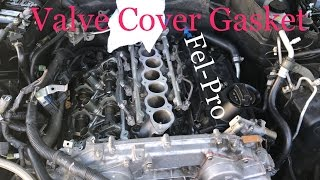 g35 / vq35de- how to replace valve cover gasket - youtube  youtube