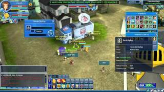 Digimon Masters Online [HD/PC - gameplay]