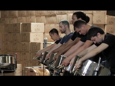 Andy Akiho 013 - Alloy - Foundry Steel Pan Ensemble
