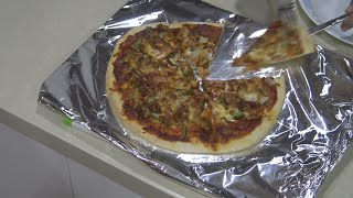 """ Quick Hot & Spicy Chicken Pizza "" Bajias Cooking"