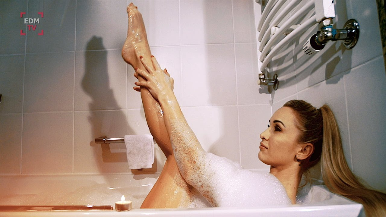 Shower in Hot bathroom girls the