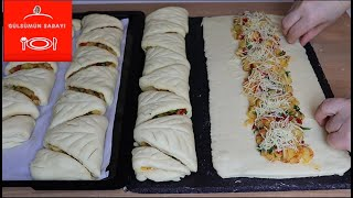 With this recipe, anyone can easily make puff pastry without using ready-made dough.