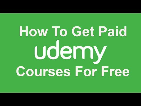 How To Get Paid Udemy Courses For FREE 2017 (100% Legal